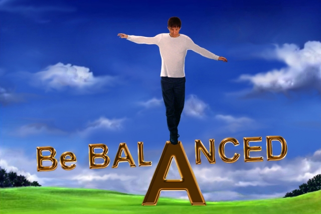 """Be Balanced"" by Guyus Seralius, © 2012. All rights reserved."