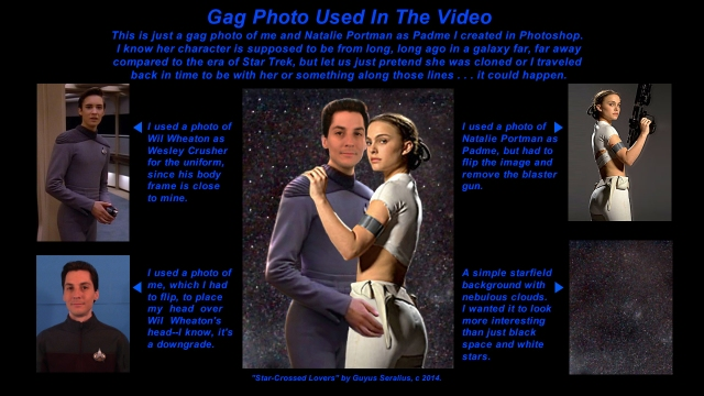 Gag Photo of Guyus and Padme Explained