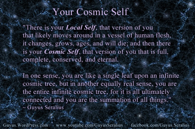 """Cosmic Self"" by Guyus Seralius, Copyright 2014 , All Rights Reserved."