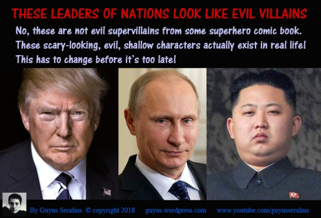 Leaders Who Look Like Evil Comic Book Villains-01